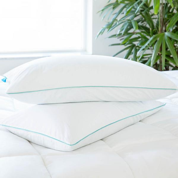 shredded memory foam pillow by linenspa read reviews features reviews