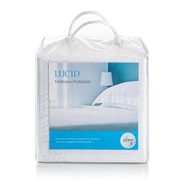 Waterproof Terry Mattress Protector by Lucid Full