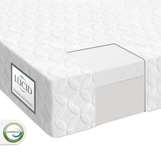 "6"" Memory Foam Mattress by LUCID"