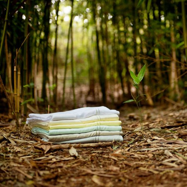 Rayon From Bamboo Sheet Set By Woven Linenspa