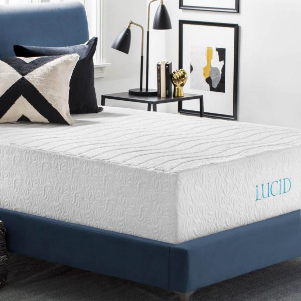16 Quot Natural Latex And Memory Foam Mattress By Lucid