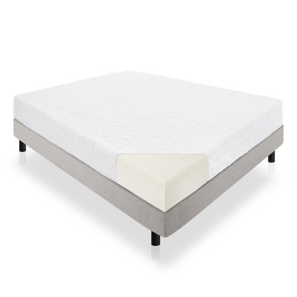 "10"" Latex Foam Mattress by Lucid Linenspa"