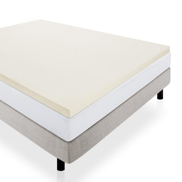 "2"" Foam Mattress Topper by Lucid Linenspa"