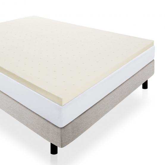"2"" Memory Foam Mattress Topper by LUCID"