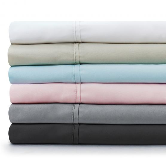 Brushed Microfiber Bed Sheet Set By Malouf 174